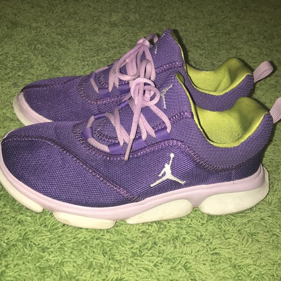 Jordan Other - Nike Air Jordan Youth Big Kids Purple Shoes 0d79e8fbee